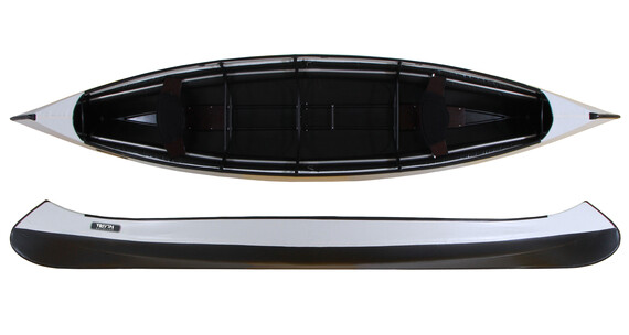 Triton advanced Canoe hellgau/schwarz